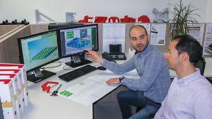 Um die optimale Materialzusammensetzung für die jeweilige Produktanwendung im Vorfeld bestimmen zu können, wurde das Materialverhalten mit Hilfe der FEM Methoden simuliert.