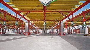 Klinika South Health Campus: Hlavní budova bude mít dvě podzemní a osm nadzemních podlaží, každé s plochou stropů cca 20 000 m2.