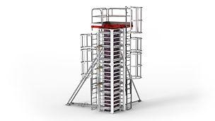 Система RAPID для идеальной бетонной поверхности без следов от заклепок и стыков.