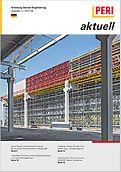 Cover der 2. Ausgabe des Kundenmagazins PERI aktuell Deutschland für das Jahr 2013