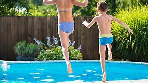 Zwembaden of vijvers plaatsen zonder verloren bekisting? Dat kan met DUO bekisting.