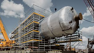 Northwest Redwater Project (NWR) - Safety was the top priority when the world's most modern oil sand refinery with a daily capacity of 150,000 barrels (2.5 million litres) on a 2 km² facility was built in Edmonton, Canada.