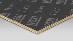 Rozmerovo stála preglejka najčastejšie používaná ako stropná doska pre hladký povrch betónu.