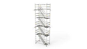 Žebříkové výstupy, schodiště, přechody