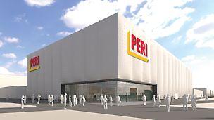 Al bauma 2019, PERI esibirà i suoi prodotti e servizi in un nuovo padiglione della mostra. I visitatori potranno iniziare a provare già da ora, l'emozione di ammirare i nuovi sviluppi e le innovazioni PERI - in una piacevole e originale atmosfera. (Foto: PERI GmbH)