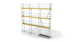 PERI UP Flex Fasadestillas Tilpasningsdyktig, og med høy bæreevne