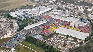 PERI - Hovedkontor inkl. lager og produktion - Weissenhorn