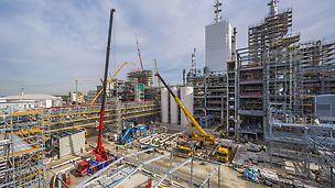 PERI Systeme und Services für Industriebau- und Industrieanlagen
