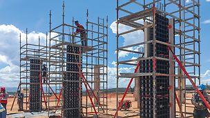 Los Ramones II Pipeline: Snadná montáž a přemístění ručně