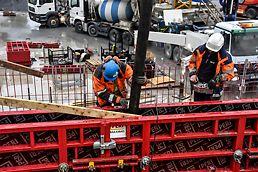 Maximo  PERI Forskaling  Stillas Kryssfiner OSB Anlegg  Bygg PERI prokit Betong  Oslo Skøyen