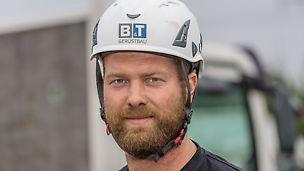 Porträt von Michael Brunkhorst, Geschäftsführer bei B&T Gerüstbau, Eydelstedt