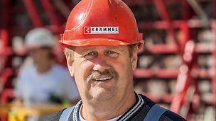 Proträt von Xaver Länger, Polier von Krämmel GmbH & Co. Bauunternehmung KG, Wolfratshausen