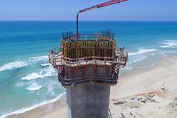 מערכת ואריו המאפשרת יציקת בטון באיכות גבוהה.