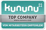 The seal of quality for well-rated employers on kununu.com