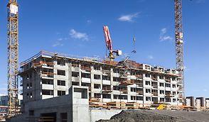 Fuxova je projekt s 2 podzemnými a 24 nadzemnými podlažiami na petržalskej strane Bratislavy.