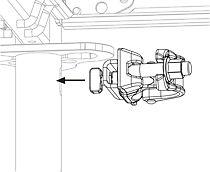 Der Easy Ankeranschluss wird ganz einfach in das Längsloch am Easy Rahmen oder an der Konsole eingesteckt.