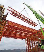Le Treillis haute capacité VARIOKIT pour grandes portées possède une forte capacité de portance avec un poids mort limité. La rapidité d'assemblage est un autre avantage.