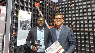 "The PERI DUO Universal Formwork is the winner of the ""Best Innovation Product Award"" category at the ""Kostroi Angola 2016""."