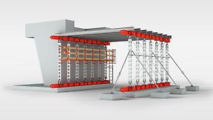 HD 200 giganttårn: Den lette tårnsektion til belastninger på op til 200 kN