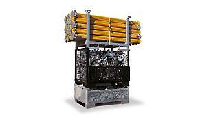PERI Transportbehälter für wirtschaftliche Baustellenlogistik