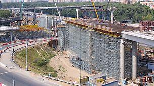 3 000 тонн оборудования PERI доставлено для реконструкции Бусиновской развязки
