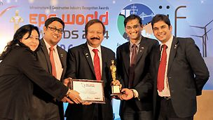 PERI press release - PERI India won the EPC World Media, Ernst & Young and Zee Business Group Award 2014 - Honoured for excellence in India Infrastructure and Construction Industry