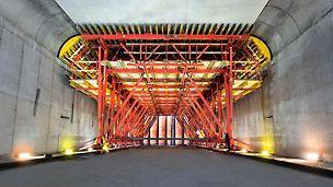 VARIOKIT tunnelvagn med hydrualisk lyft/sänkenhet och flyttning med tunglasthjul