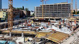 Twin City, Bratislava - Obchodno - kancelársky projekt Twin City v Bratislave je pokračovaním prvej etapy úspešného projektu kancelárskych priestorov v blízkosti autobusovej stanice v centre Bratislavy.