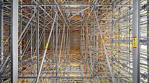 Albian Sands projekt, Fort McMurray, Kanada: PERI UP Rosett és MULTIFLEX nehézállványok alkalmazása.