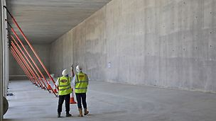 PERI's VARIO formwork system achieves high concrete finish to Derbyshire Resevoir Walls