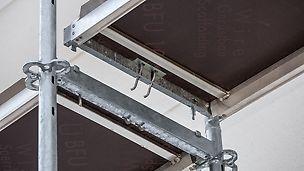 Podlahy PERI UP Easy s integrovanou pojistkou proti nazdvihnutí