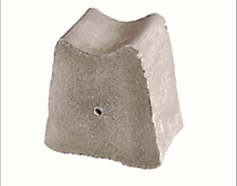 Concrete block spacer (Flat based), to ensure maintenance of specified cover to the reinforcement