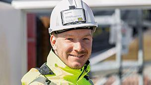 Porträt von Marco Schürmanns, Bauleiter bei PORR Deutschland GmbH, ZNL Berlin, Infrastruktur/Ingenieurbau