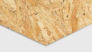 OSB plater produsert av flis, furu og gran. Leveres i utallige størrelser. OSB finer finèr kryssfiner plate tre panel PERI spon forskalingsfiner prefab industri