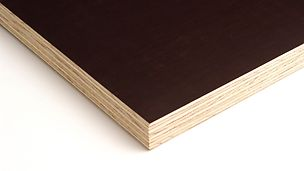 The PERI Pine panel has a 9-ply pine veneer construction.