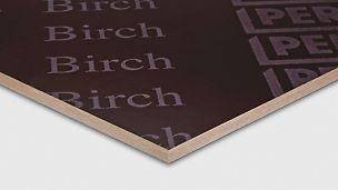 Korkealaatuinen PERI Birch -vaneri soveltuu lähes kaikkiin seiniin ja holveihin.
