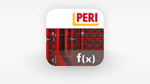 App icon PERI Formwork Load Calculator