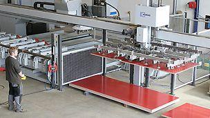 Maximalert Automatisierungsgrad, minimale Rüstzeiten und Parallel-Bearbeitung.