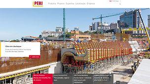 Novo site da PERI Brasil