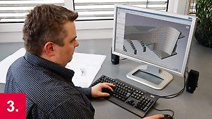 Basierend auf abgeschlossener 3D-Volumenkörper Planung am PC.