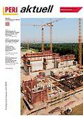 Cover der 1. Ausgabe des Kundenmagazins PERI aktuell Österreich für das Jahr 2006