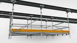 PERI UP Flex Hängegerüste - Verfahrbare Lösungen