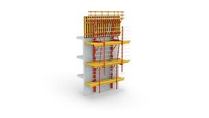 катереща система, хидравлично изкачване, работна платформа, кофраж, кофриране, безопасен, кофражни системи, кофраж под наем, кофраж продава, кофраж монтаж, висок кофраж, високи сгради, катерещ кофраж, мост кофраж, катерещи анкери, конзолни платформи, работна платформа
