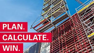 Startna slika za promo-film  PERI Construction Exercise.