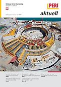 Cover der Ausgabe des Kundenmagazins PERI aktuell Österreich für das Jahr 2009