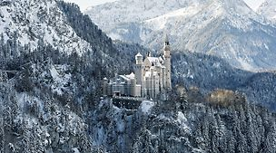 Renovation Neuschwanstein Castle