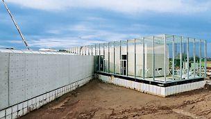 Langen Foundation, Neuss-Hombroich, Deutschland - Der Glasveranda genannte Gebäudeteil wird Werke japanischer Herkunft des vergangenen Jahrtausends beherbergen.