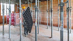 DUO ist speziell entwickelt worden für das Schalen von kleinflächigen konstruktiven Betonbauteilen mit einfacher Geometrie und ohne besonderen Anspruch an die Oberfläche.