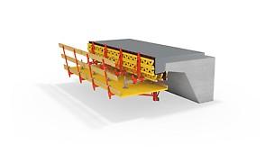 Leichte Konsole für Sanierung sowie Neubau bei kurzen Brücken