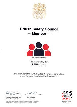 British Safety Council Membership